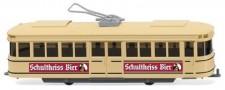 Wiking 075001 Straßenbahn-Triebwagen Schultheiss-Bier