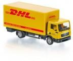 Wiking 077427 Control87: MAN TGL Koffer-Lkw DHL