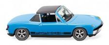 Wiking 079207 VW Porsche 914 hellblau