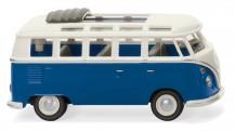 Wiking 079721 VW T1/2c Sambabus blau/weiß
