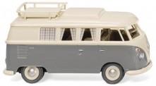 Wiking 079724 VW T1/2c Campingbus perlweiß/grau