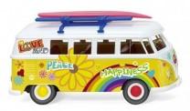 Wiking 079725 VW T1/2b Bus Flower Power