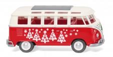 Wiking 079728 VW T1/2b Sambabus Weihnachtsbulli 2021