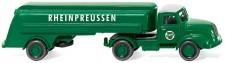 Wiking 080049 Magirus S3500 Tank-SZ Rheinpreussen