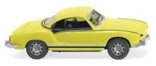 Wiking 080509 VW Karmann Ghia Coupé Gelb-Schwarzer