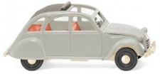 Wiking 080914 Citroën 2 CV achatgrau (Rolldach offen)