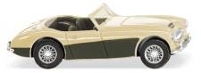 Wiking 081609 Austin Healey 3000 elfenbein/umbragrau
