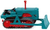 Wiking 084437 Hanomag K55 Raupenschlepper wasserblau