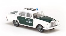 Wiking 086426 MB 220 S Lim. Polizei Hamburg