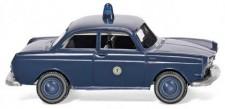 Wiking 086436 VW 1600 Lim. Polizei Berlin