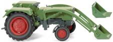 Wiking 089003 Fendt Farmer 2S mit Frontlader grün