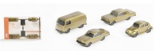 Wiking 091006 Drei Pkw und ein Kleinbus 50 Jahre
