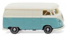 Wiking 093201 VW T1/2b Kasten pastelltürkis/cremeweiß