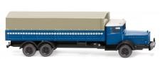 Wiking 094306 MB L10000 Pritsche/Pl. blau