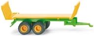 Wiking 095539 Joskin Futtertransportanhänger gelb/grün