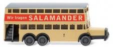 Wiking 097303 Doppeldecker D38 BVG Salamander