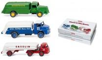 Wiking 099082 Set: Tankwagen im deutschen Alltag