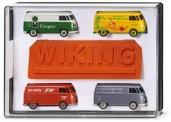 Wiking 217001 Set: 65 Jahre VW T1 Kastenwagen