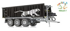 Wiking 877394 Fliegl ASW black-Panther-Design