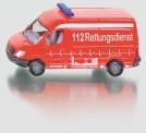 Siku 0805 MB Sprinter Krankenwagen