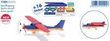 Siku 1101 Sportflugzeug mit 16 Sticker