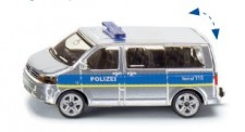 Siku 1350 VW T5 Bus Polizei silber/blau