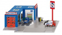 Siku 5507 Werkstatt mit 2 Autos