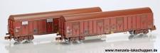 Trains 160 16015 SNCF gedeckte Güterwagen-Set 2-tlg Ep.5