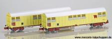 Trains 160 16017 SNCF gedeckte Güterwagen-Set 2-tlg Ep.5