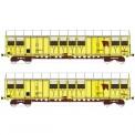 Trains 160 16020 SNCF gedeckte Güterwagen-Set 2-tlg Ep.4