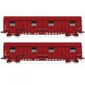 Trains 160 16022 SNCF gedeckte Güterwagen-Set 2-tlg Ep.5
