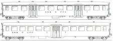 MW-Modell N-CH-220d SBB Personenwagen-Set 2-tlg Ep.4