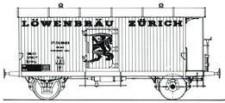 MW-Modell N-CH-430a SBB Kühlwagen-Set 2-tlg Ep.3