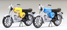 Kres 10150 Moped Simson S50 gelb / blau