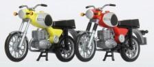 Kres 10261 MZ TS250 2er Set in gelb & rot