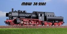 MBW 382161 DB Dampflok BR 38 2161 Ep. IIIb