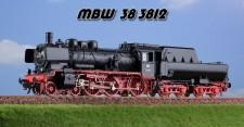 MBW 383812 DB Dampflok BR 38 3812 Ep. IIIb