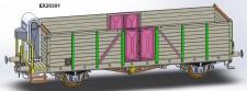 Exact-train 20301 CSD gedeckter Güterwagen Ep.3