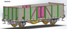 Exact-train 20302 SNCF gedeckter Güterwagen Ep.3