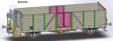 Exact-train 20303 SNCF gedeckter Güterwagen Ep.3