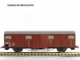 Exact-train 20410 DR gedeckter Güterwagen Ep.4