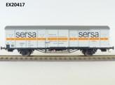 Exact-train 20417 DR gedeckter Güterwagen Ep.4