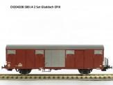 Exact-train 20420 SBB gedeckter Güterwagen Ep.3