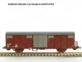 Exact-train 20423 SBB gedeckter Güterwagen Ep.4