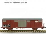 Exact-train 20426 SNCF gedeckter Güterwagen Ep.5
