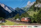 NME Kal2021 Schweizer Eisenbahnenkalender 2021