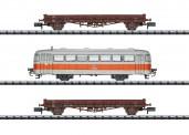 Trix 15091 DB Wagen-Set Streckenkontrolle 3tlg Ep.4