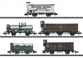 Trix 15284 KBayStsB Pfalz Güterwagen-Set 5-tlg Ep.1