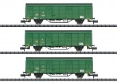"""Trix 15312 DR Güterwagen-Set """"Postzug"""" Ep.4"""