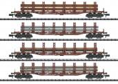 Trix 15484 DB Güterwagen-Set Stahltransport Ep.4